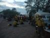 """Gran compromiso para contener el incendio """"Arroyo Yuto"""""""
