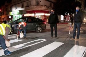 Demarcaron calles en el micro centro
