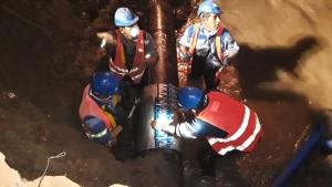 Dañan acueducto en Huaico