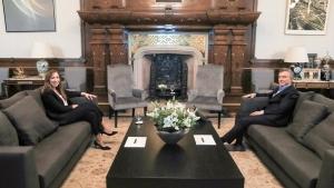 Macri recibió a Vidal para hablar del futuro político