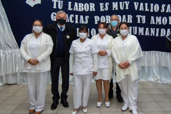 Se conmemoró el Día Internacional de la Enfermería