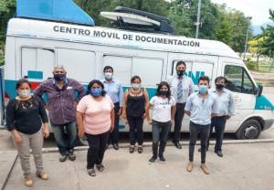 DNI: Exitoso operativo de documentación en Aguas Calientes