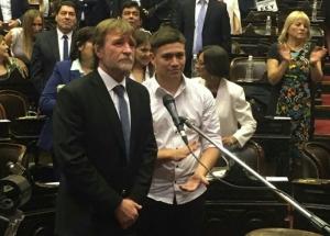 RIZZOTTI PRESTÓ JURAMENTO EN LA CÁMARA DE DIPUTADOS DE LA NACIÓN