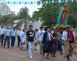 FIESTAS PATRONALES EN ROSARIO DE RÍO GRANDE