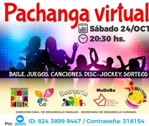 "Municipio invita a una ""Pachanga"" virtual"