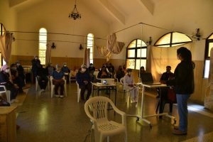 Mega operativo sanitario COVID-19 en La Quiaca
