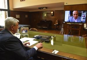 Haquim destacó las potencialidades productivas para un intercambio comercial con chile