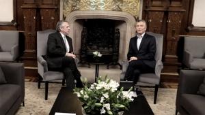 Macri y Fernández se reunieron durante una hora para acordar los pasos de la transición