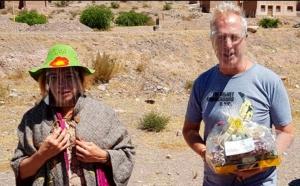 Tilcara reabrió al turismo y homenajeó a dos figuras de la TV nacional como primeros visitantes