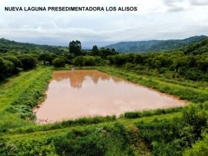 AGUA POTABLE FINALIZÓ LA CONSTRUCCIÓN DE UNA NUEVA LAGUNA PRESEDIMENTADORA EN LOS ALISOS