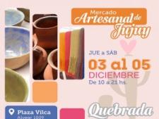 Artesanías de la Quebrada en el Mercado Artesanal