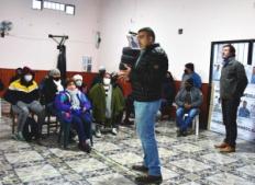 Candidatos de Primero Jujuy en Alto Comedero y 18 de noviembre