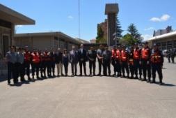 RECONOCIMIENTO A BOMBEROS POR LA LUCHA CONTRA INCENDIOS EN BOLIVIA