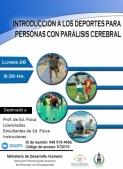 """""""Introducción a los deportes para personas con parálisis cerebral"""""""