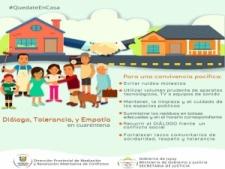 Normas de convivencia familiar por la cuarentena
