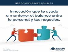 Nueva propuesta del Macro para Negocios y Profesionales