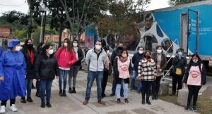 Móvil odontológico recorre Campo Verde
