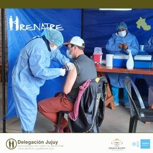 Finalizó operativo de vacunación para los trabajadores rurales