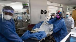 Murieron 611 personas y 22.552 fueron diagnosticadas con coronavirus en el país