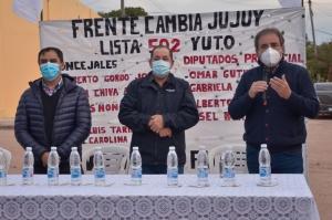 """Gutierrez;""""Estoy convencido que hay un camino para un Jujuy mejor"""""""