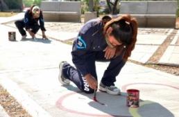 Murales participativos en el Xibi-Xibi